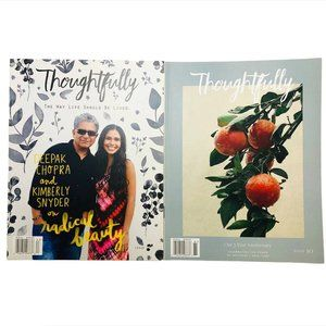 Thoughtfully magazines Anniversary Edition Deepak